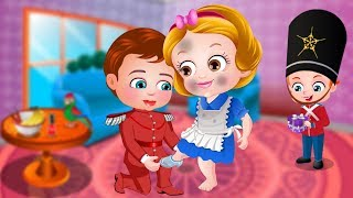 Cinderella Story | Fairy Tale Games For Kids By Baby Hazel Games | Part 8