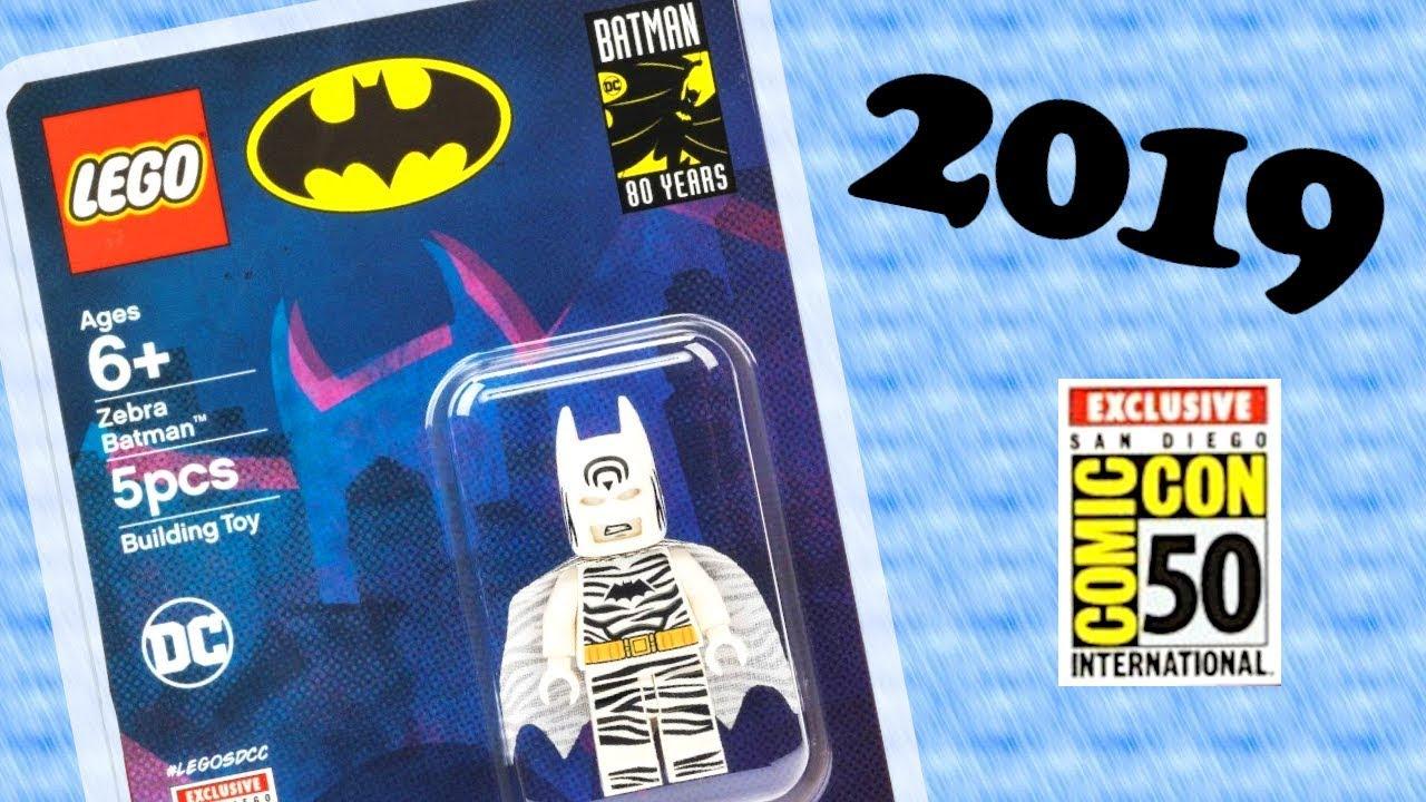 Thoughts on NEW SDCC 2019 LEGO Batman Zebra Suit Exclusive ...