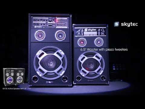 Skytec KA-06 Active Speaker Set 6.5