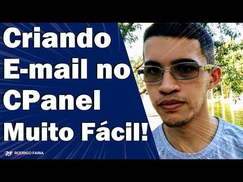 Como Criar Uma Conta de Email no cPanel - HOSTGATOR | RODRIGO FARIA