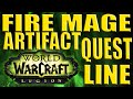 LEGION Fire Mage Artifact Quest Line mp3