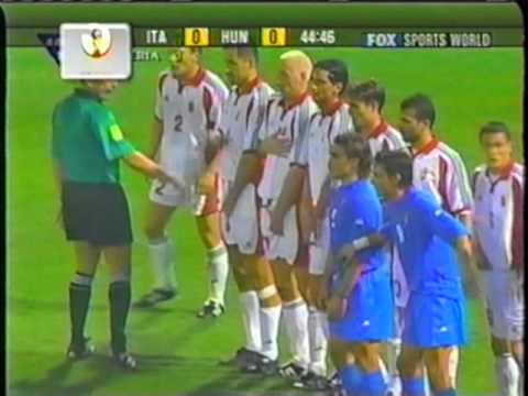 2001 (October 6) Italy 1-Hungary 0 (World Cup qualifier).mpg