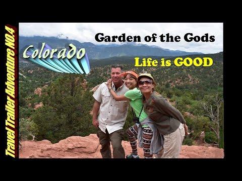 RV Camping at Canon City Colorado and Garden of the Gods.