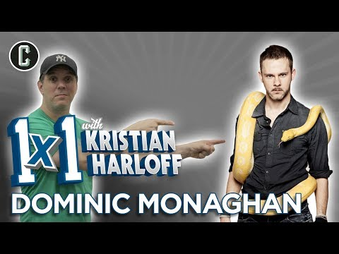 Actor Dominic Monaghan   1 on 1 W KRISTIAN HARLOFF