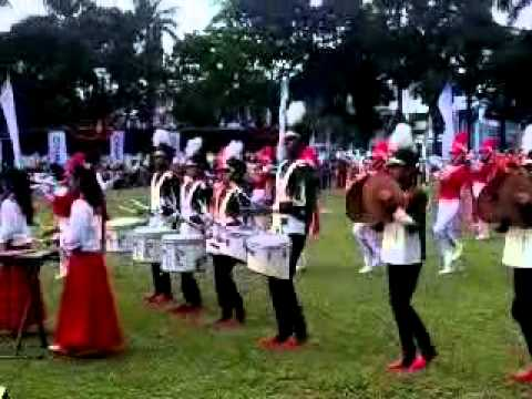 The little four_ce marching band smp n4 palembang