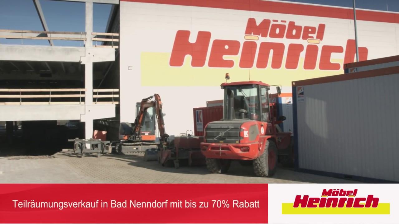 Teilraumungsverkauf Bei Mobel Heinrich In Bad Nenndorf Youtube