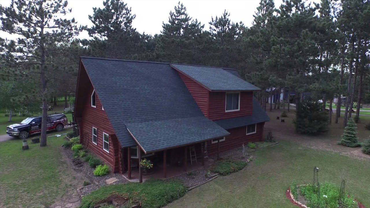 Perfect Green on Red GAF Timberline HD Hunter Green shingles in – Hunter Green Roof Shingles