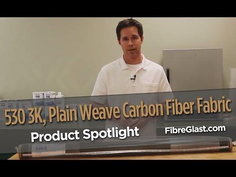 3K, Plain Weave Carbon Fiber Fabric