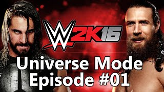 WWE 2K16 Universe Mode - Episode 1: Just Getting Started