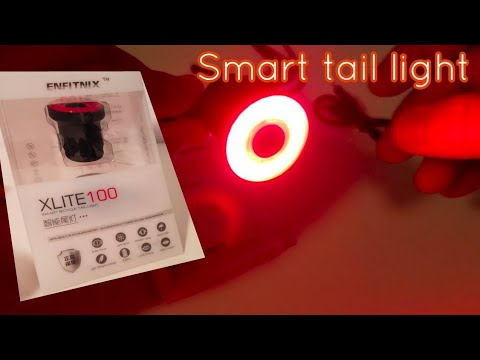 X-Lite100 Smart Bicycle Tail Light Intelligent Sensory Brake Light Waterproof US