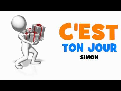 Joyeux Anniversaire Simon Youtube