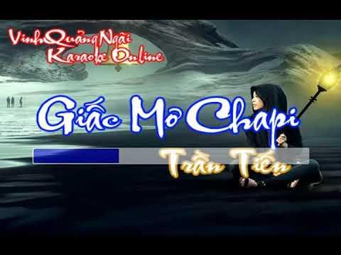 Karaoke – Giấc Mơ Chapi – Tone Nam (Trần Tiến) ||  Beat Chuẩn Full HD