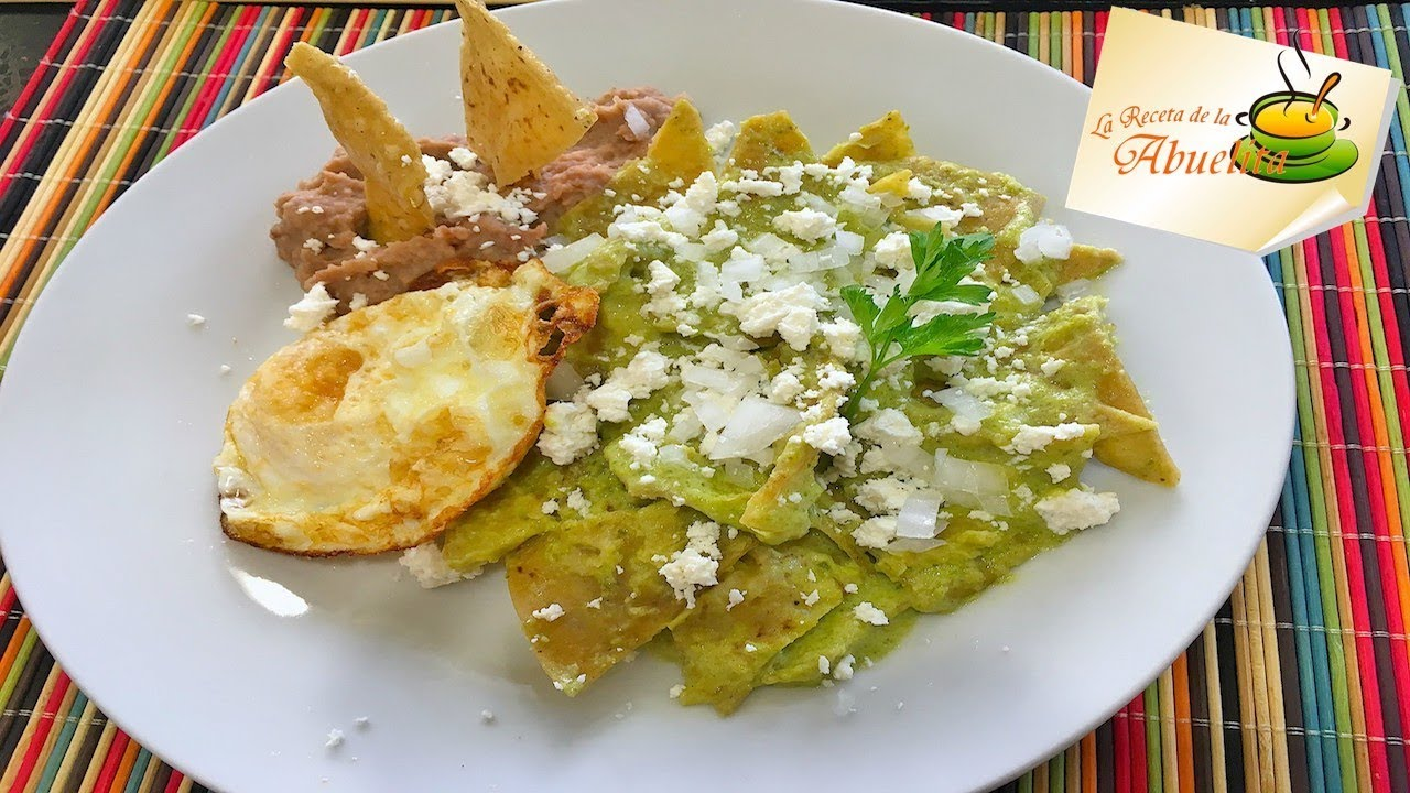 how to make chilaquiles youtube