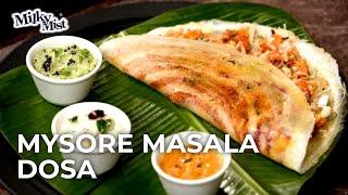 Mysore Masala Dosa Recipe | Mysore Dosa | Easiest Dosa Recipe