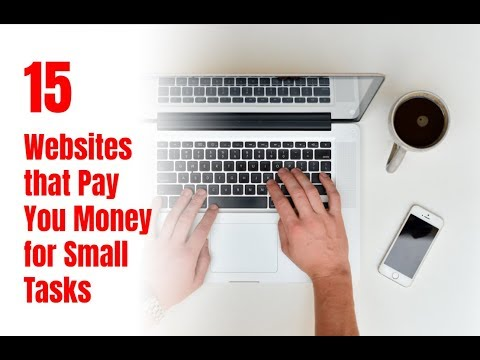 15 Websites that Pay You Money for Small Tasks - Self Made Success