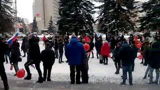 """""""Забастовка избирателей"""". Сбор участников на Садовой площади"""