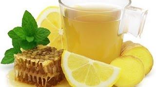 Имбирный чай.имбирь с лимоном