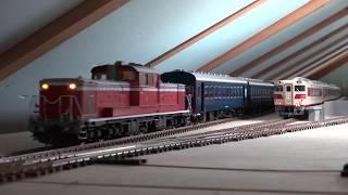 DD51 10系客車(OJゲージ鉄道模型)