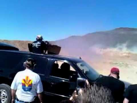 Dillon Aero Tactical Vehicle with Gatling Gun - YouTube