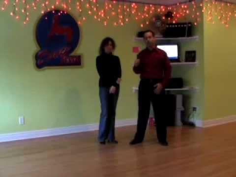 Hustle lessons in Brooklyn at Dance Fever Studios. Advanced Intermediate Hustle # 3