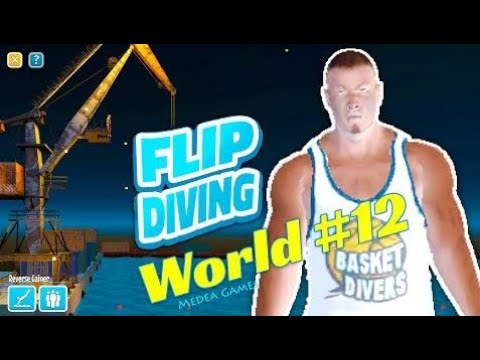 Flip Diving Basketball Diver The Crane Backflip Grab - by Miniclip | Gameplay (iOS/Android)