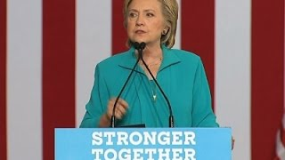 Clinton: Trump 'Taking Hate Groups Mainstream'