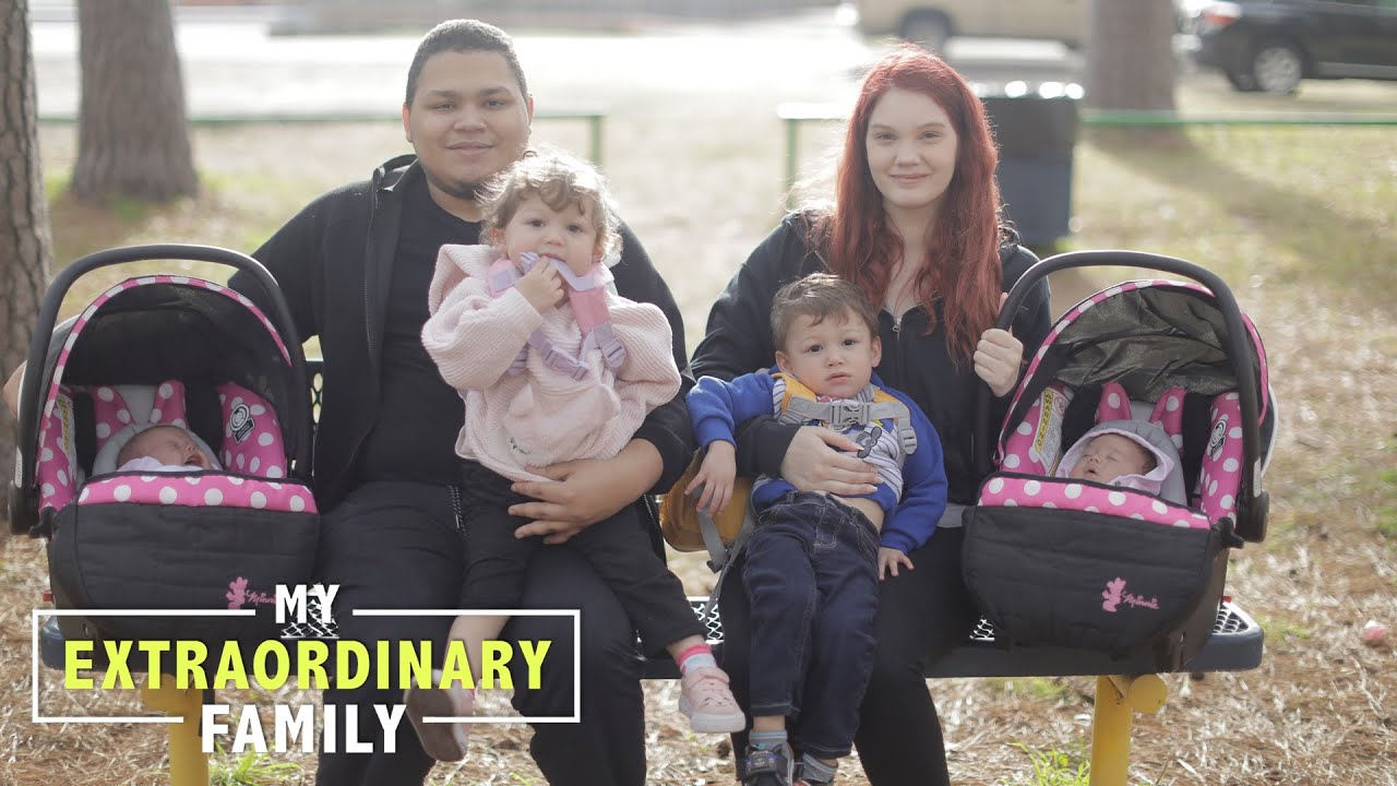 We're 19 - And Have Two Sets Of Twins | MY EXTRAORDINARY FAMILY