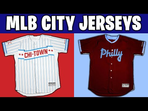 All 30 MLB Team City Edition Jersey Designs!
