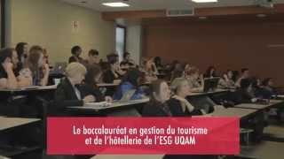 Baccalauréat en gestion du tourisme et de l'hôtellerie de l'ESG UQAM