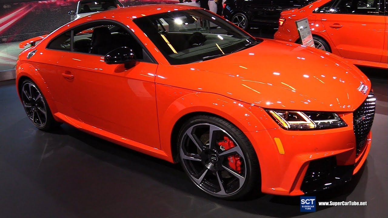 2018 Audi Tt Rs Coupe Exterior And Interior Walkaround 2018