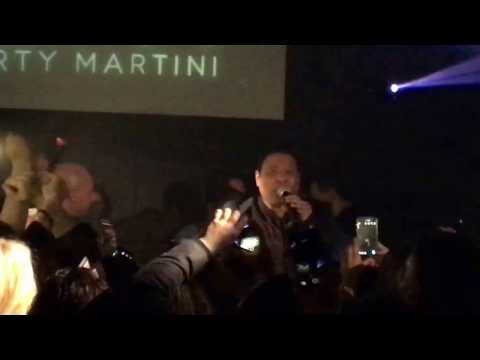 Stevie B at Dirty Martini Feb. 25, 2017