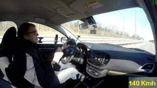 Давим в пол на Lada Vesta - максимальная скорость!