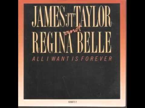"""James """"JT"""" Taylor & Regina Belle - All I Want Is Forever"""