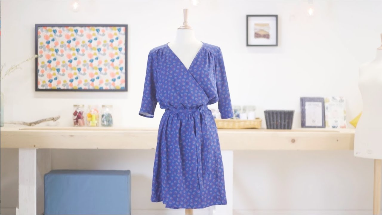Comment coudre ma robe Franklin by Linna Morata & Mondial Tissus ?