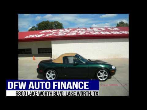 DFW Auto Finance and Sales Used 1999 Mazda Miata, Cheap Car For Sale Dallas, Ft Worth, Texas