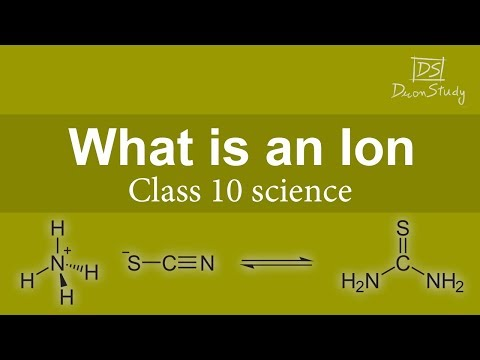 What is an Ion | Atoms and Molecules | CBSE Class 10th X Science