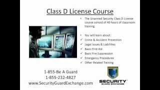 Florida Class D Security License Jacksonville