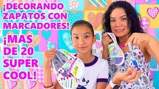 COLOREANDO ZAPATOS CHALLENGE   AnaNana Toys