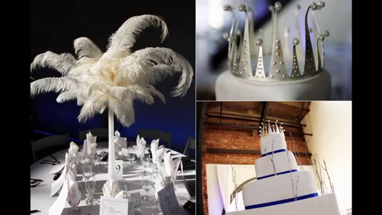 All white party themes decorations at home ideas youtube for All white party decoration