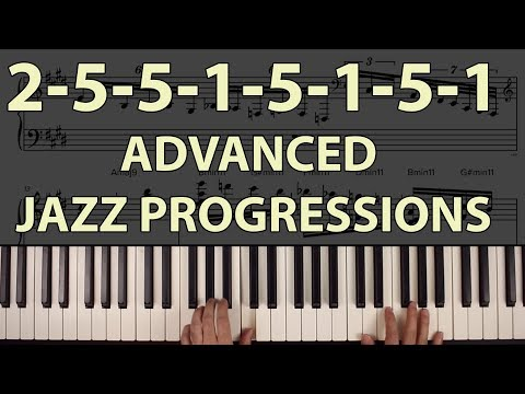 advanced-jazz-chord-progressions:-ascending-2-5-1-trains