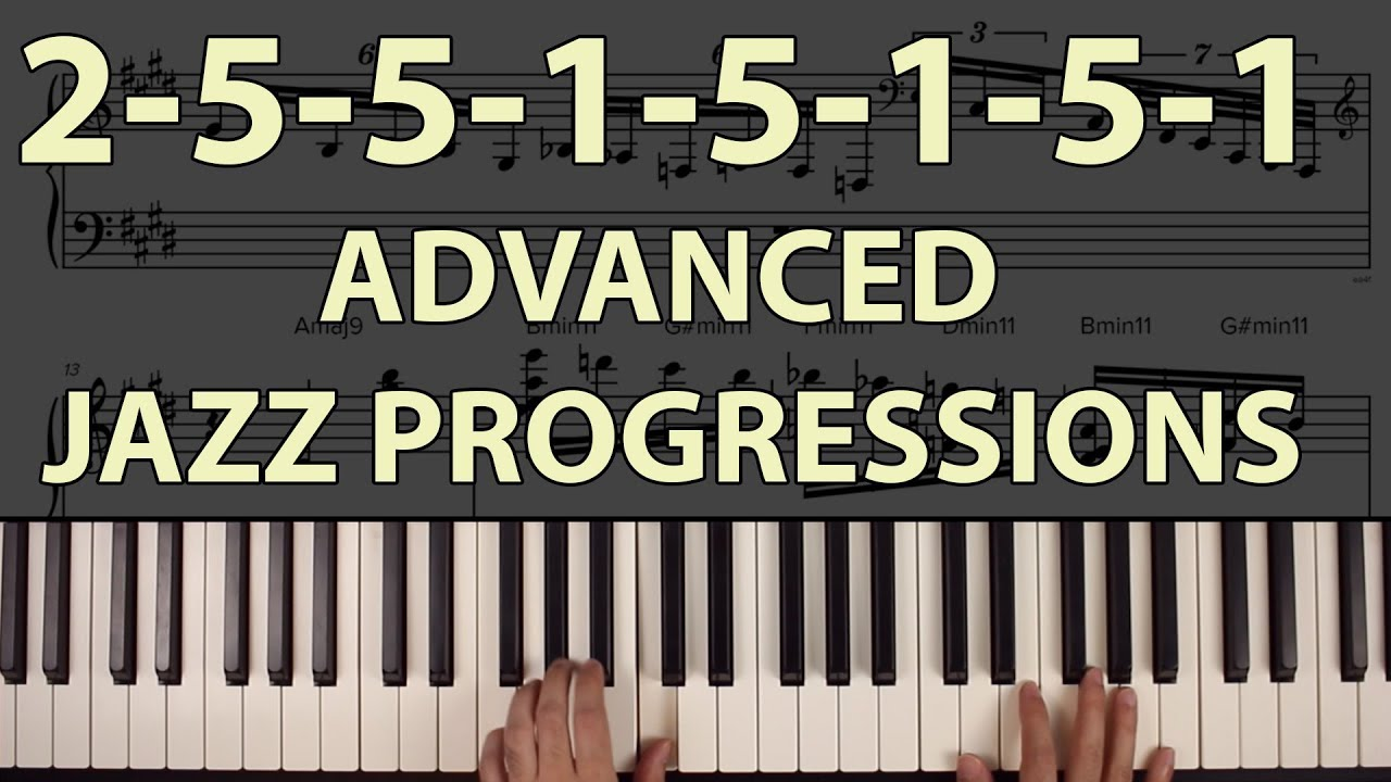 advanced jazz chord progressions ascending 2 5 1 trains youtube. Black Bedroom Furniture Sets. Home Design Ideas