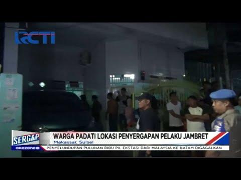 Penyergapan Pelaku Jambret, Warga Makassar Padati Lokasi - Sergap 15/01
