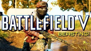 Battlefield V: Chrome and Gold Beasting! (Battlefield 5 Multiplayer Gameplay)
