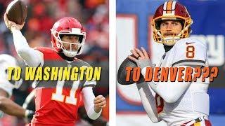 Chiefs Trade Alex Smith to Washington