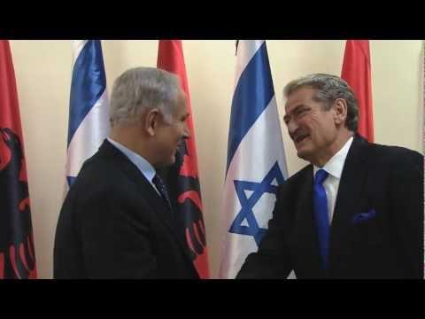 PM Netanyahu meets with Albanian PM Sali Berisha in Jerusalem