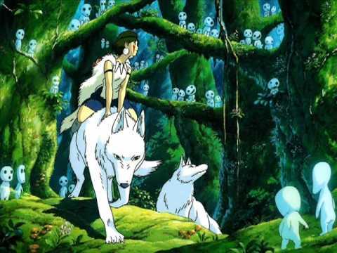 ~Anime~Princess Mononoke = Legend of Ashitaka Soundtrack Original