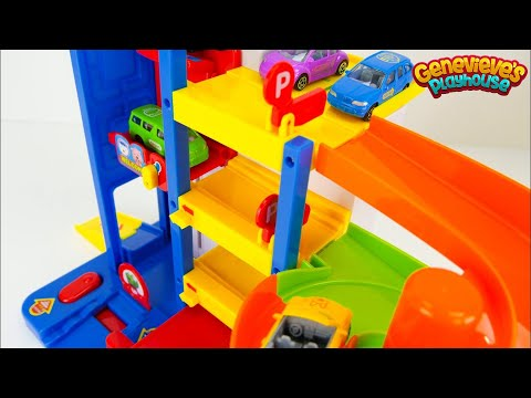Thumbnail: Learning Compilation Video for Kids Learn Colors for Toddlers Toy Cars Pororo PJ Masks Superheroes