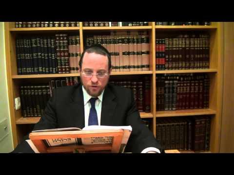 Mishna Berura en español por Rab Daniel Avram-Shiur 2