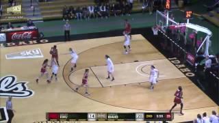 EWU WBB Highlights: at Idaho (Feb. 18, 2017)