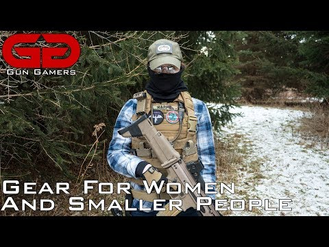 Airsoft Gear For Small People And Women